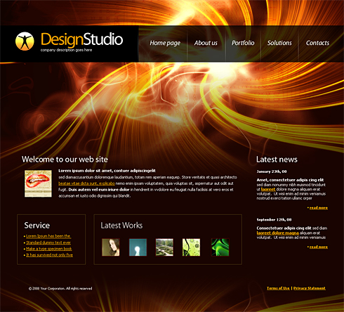 4191 - Web Design & Consulting - Website Templates - DreamTemplate