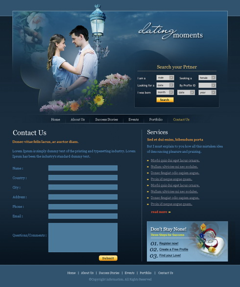 Real free dating site no credit card