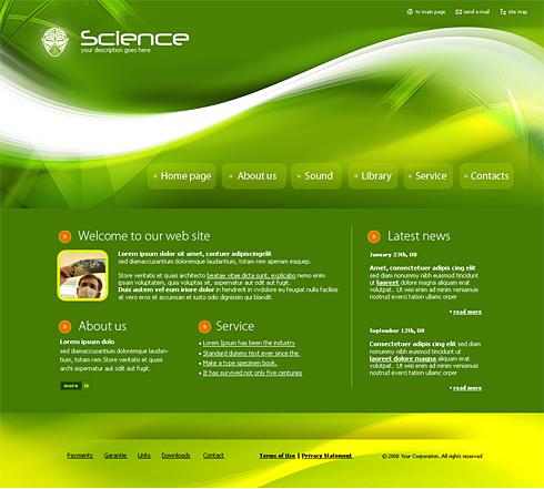 4148 futuristic science website templates dreamtemplate
