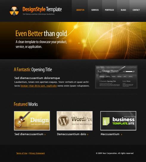 5557 futuristic science website templates dreamtemplate