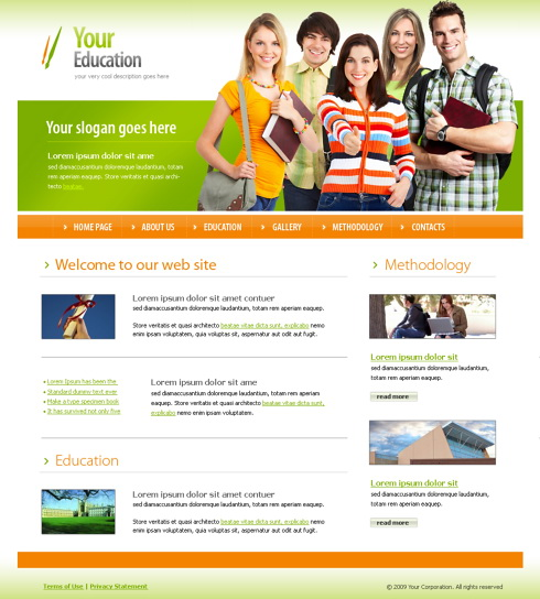 education website templates koni polycode co