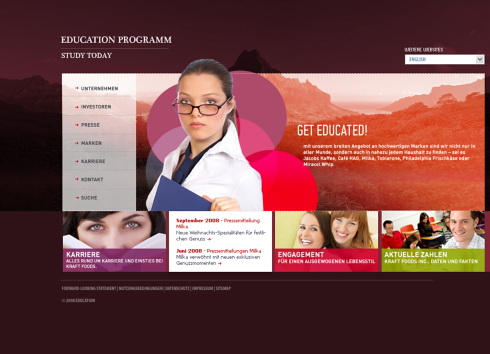 teachers website template 5429 education kids website