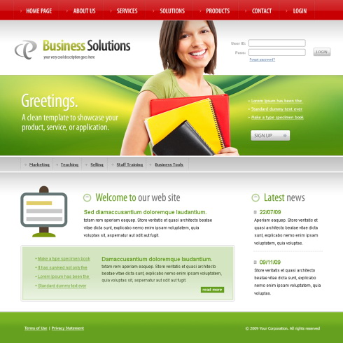Acdemic CSS Template - 6137 - Education & Kids - Website Templates ...
