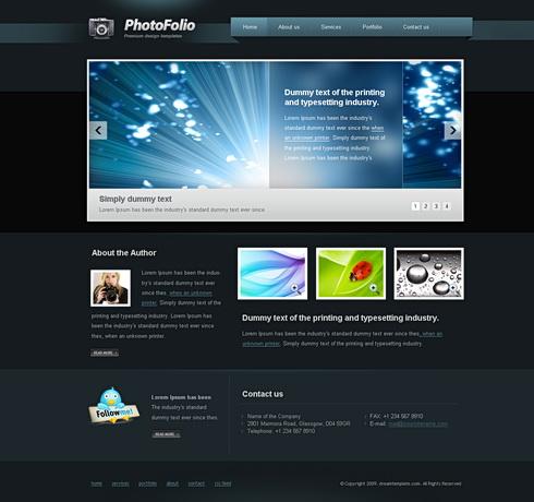 Pinterest Html Templates 6504 - Flash - CSS Personal - Flash CSS Templates ...