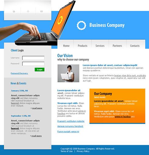 Exclusive website template 3177 computers technology website exclusive website template 3177 maxwellsz