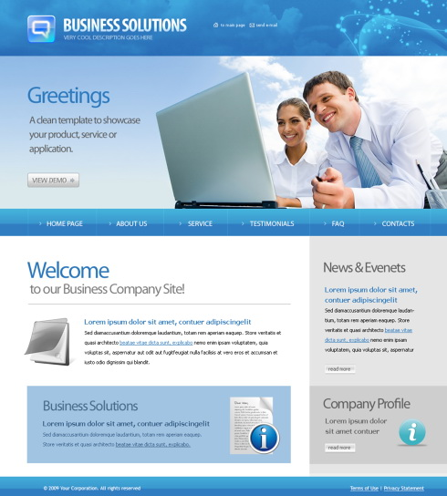 Conversation XHTML Template - 6187 - Computers & Technology ...