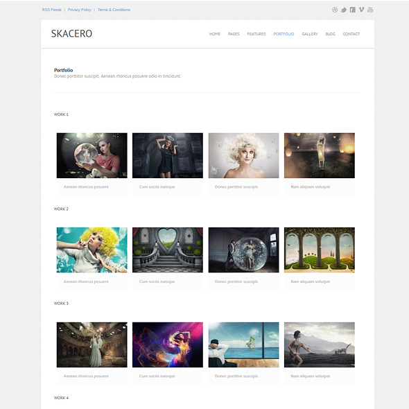 skacero - Responsive Website Template - Responsive Website Templates ...