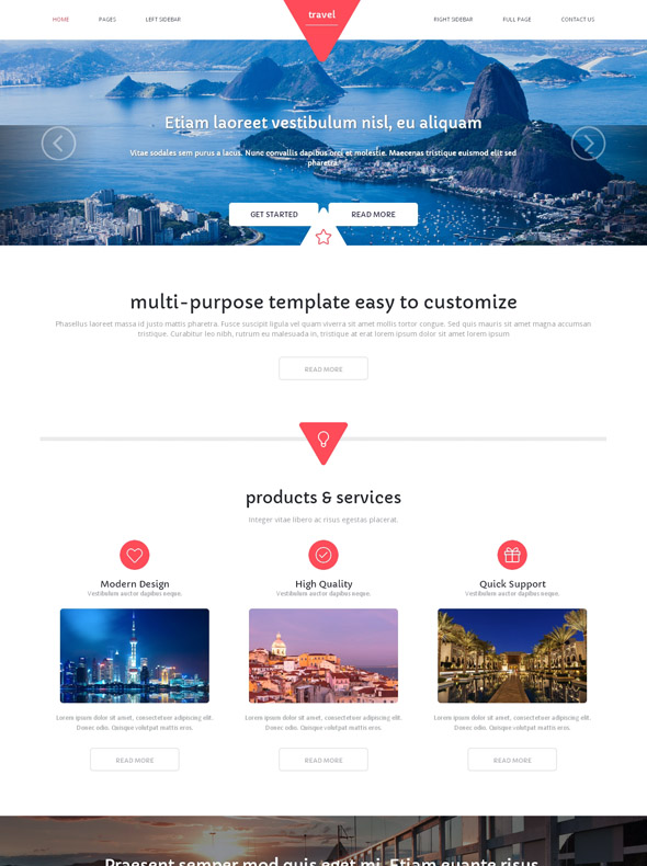 Tour Html Template