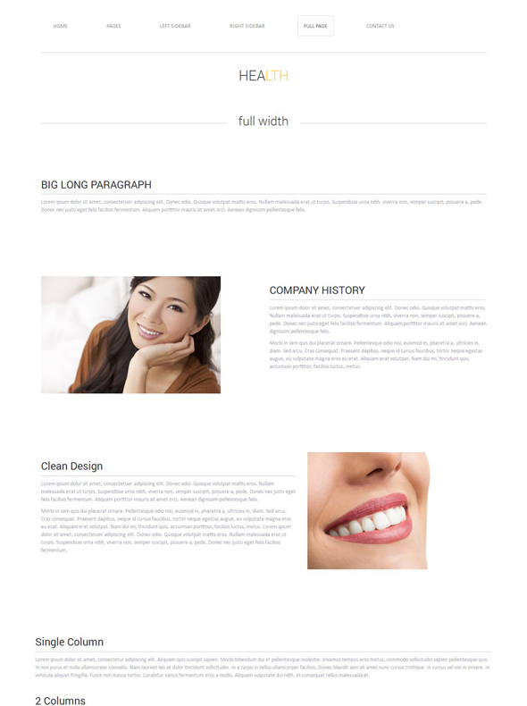 dentist website template health website templates dreamtemplate. Black Bedroom Furniture Sets. Home Design Ideas