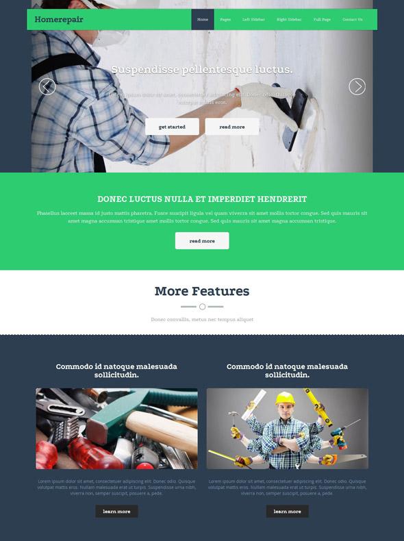 Home Renovation Web Template - Home Renovation - Website