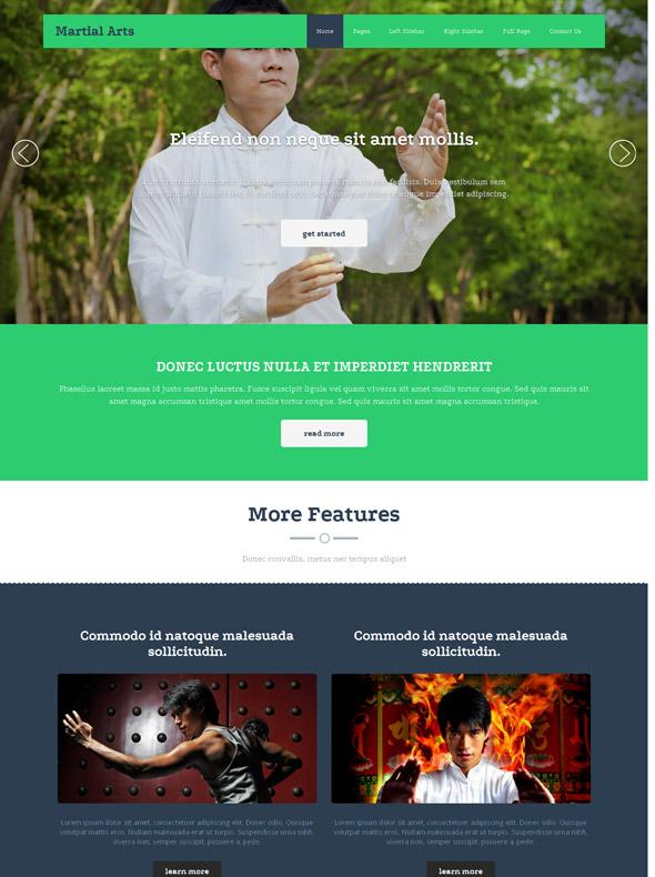 Karate Website Template