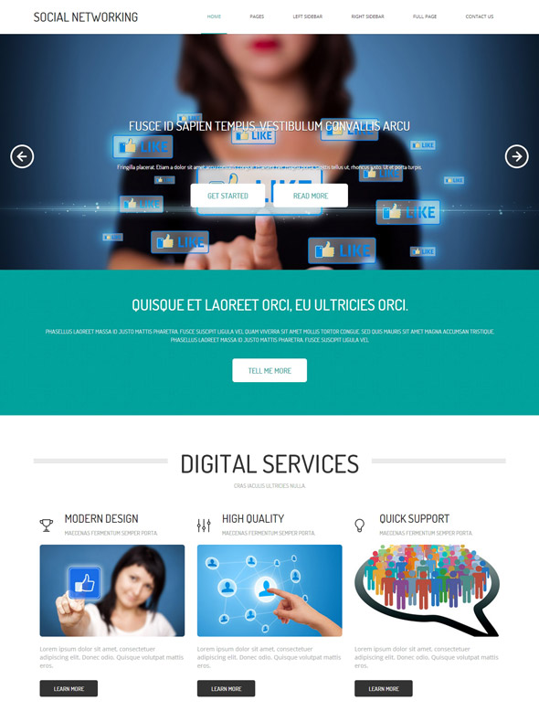 social networking site template social networking website