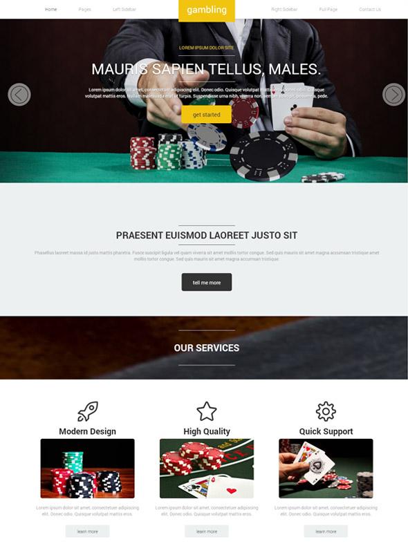 Online gambling web design free action keno casino games
