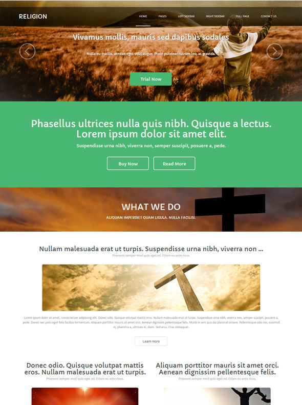 Sikh Religion Website Template - Religion - Website Templates ...