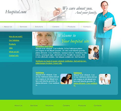 0259 - Medical - Website Templates - DreamTemplate
