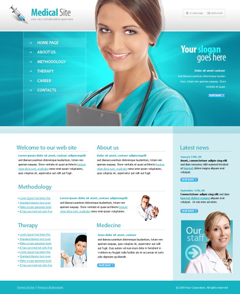 5564 - Medical - Website Templates - DreamTemplate