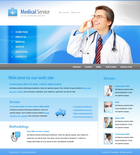 6003 - Medical - Website Templates - DreamTemplate