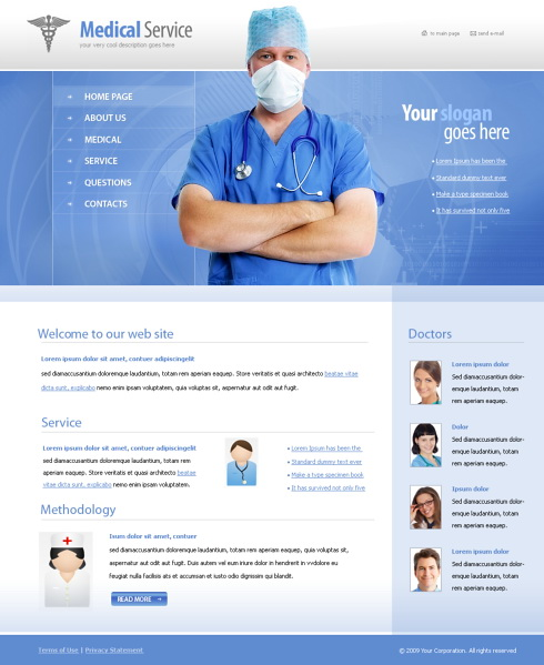 6077 - Medical - Website Templates - DreamTemplate