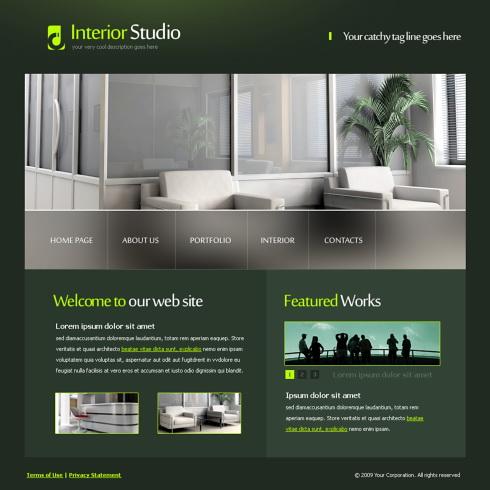 5609 interior furniture website templates for Interior furniture website