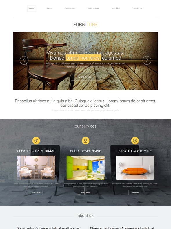 Home Design Site Template