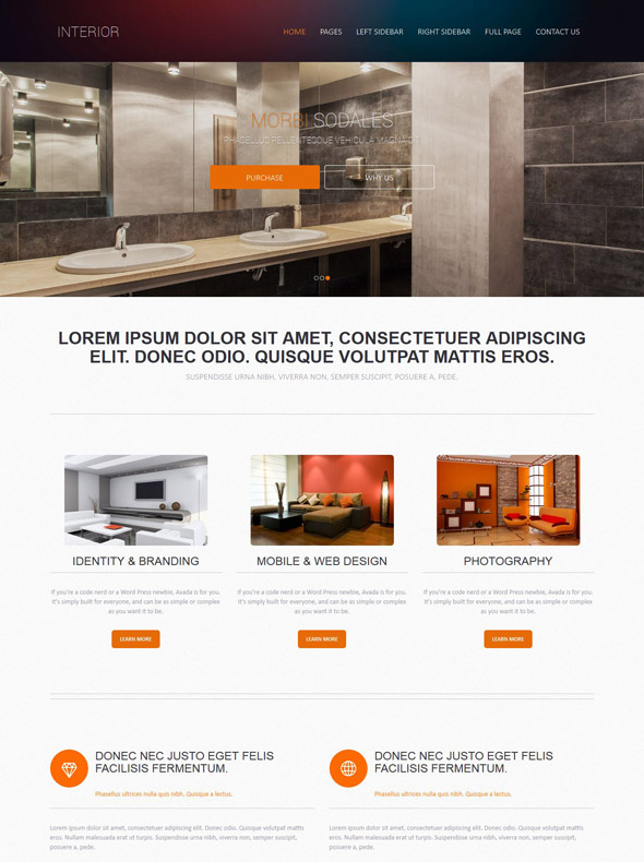 Funky Interior Design Website Templates Image Resume Ideas