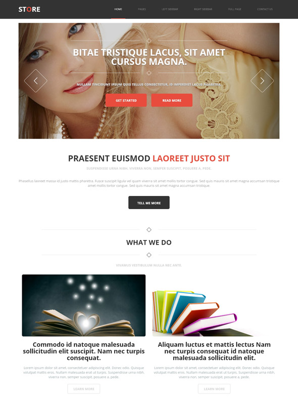 online shopping store website template store shopping