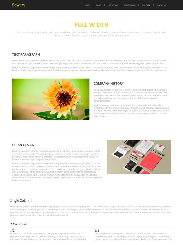 flower products site template flower website templates dreamtemplate. Black Bedroom Furniture Sets. Home Design Ideas