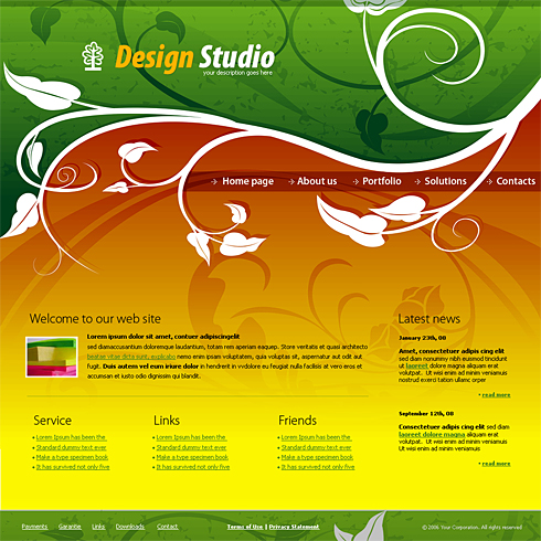 4143 web design consulting website templates for Web design consultant