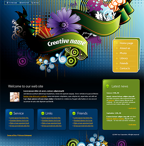 4166 - Web Design & Consulting - Website Templates - DreamTemplate