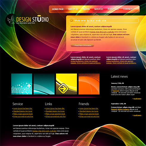 4198 - Web Design & Consulting - Website Templates - DreamTemplate