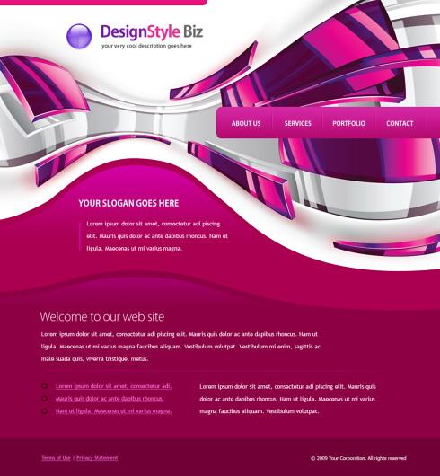 4451 - Web Design & Consulting - Website Templates - DreamTemplate