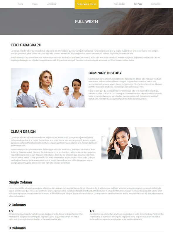 business miscellaneous products site template business website templates dreamtemplate. Black Bedroom Furniture Sets. Home Design Ideas