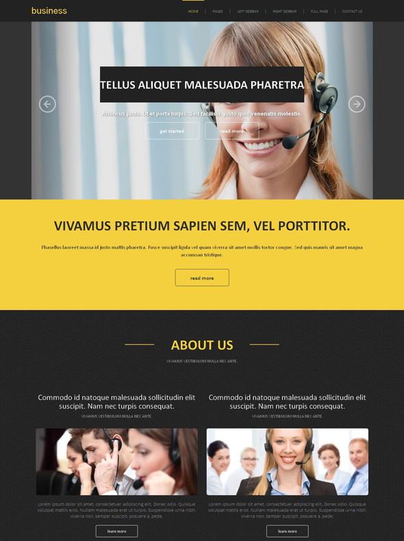 Commercial business site template business website templates commercial business site template cheaphphosting Gallery