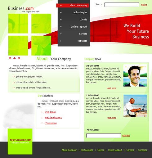 Personal Business Profile Template Bootstrap  Resumes And Cv