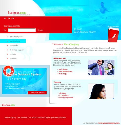 Business news html template 0148 business website templates business news html template 0148 wajeb Images