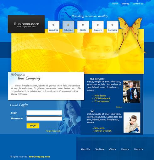 Website Templates  Web Templates  DreamTemplate