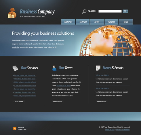 Website Page Design