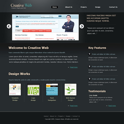 B2b solutions web template 6478 business website templates b2b solutions web template 6478 accmission Image collections