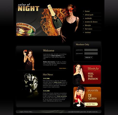 Dreamtemplate Premium Website Templates Members Area