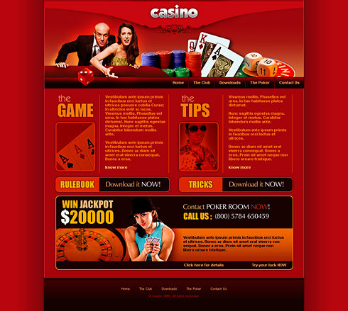 Casino websites templates no deposit bonus casino microgaming 2015