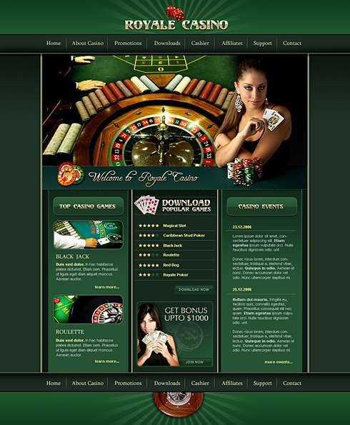 Sports gambling website templates casino cheating device