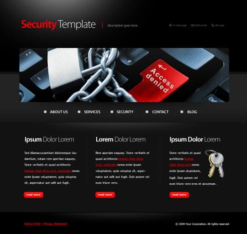 security website templates free download - Isken kaptanband co