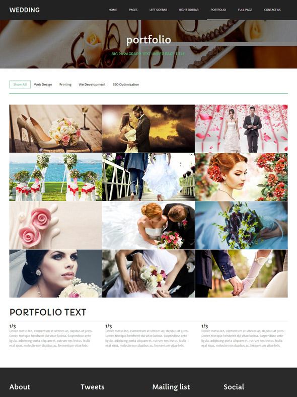 Matrimony Website Template Wedding Website Templates DreamTemplate - Matrimonial website templates