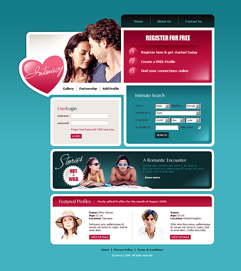 V love dating site