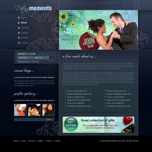 Moments dating site