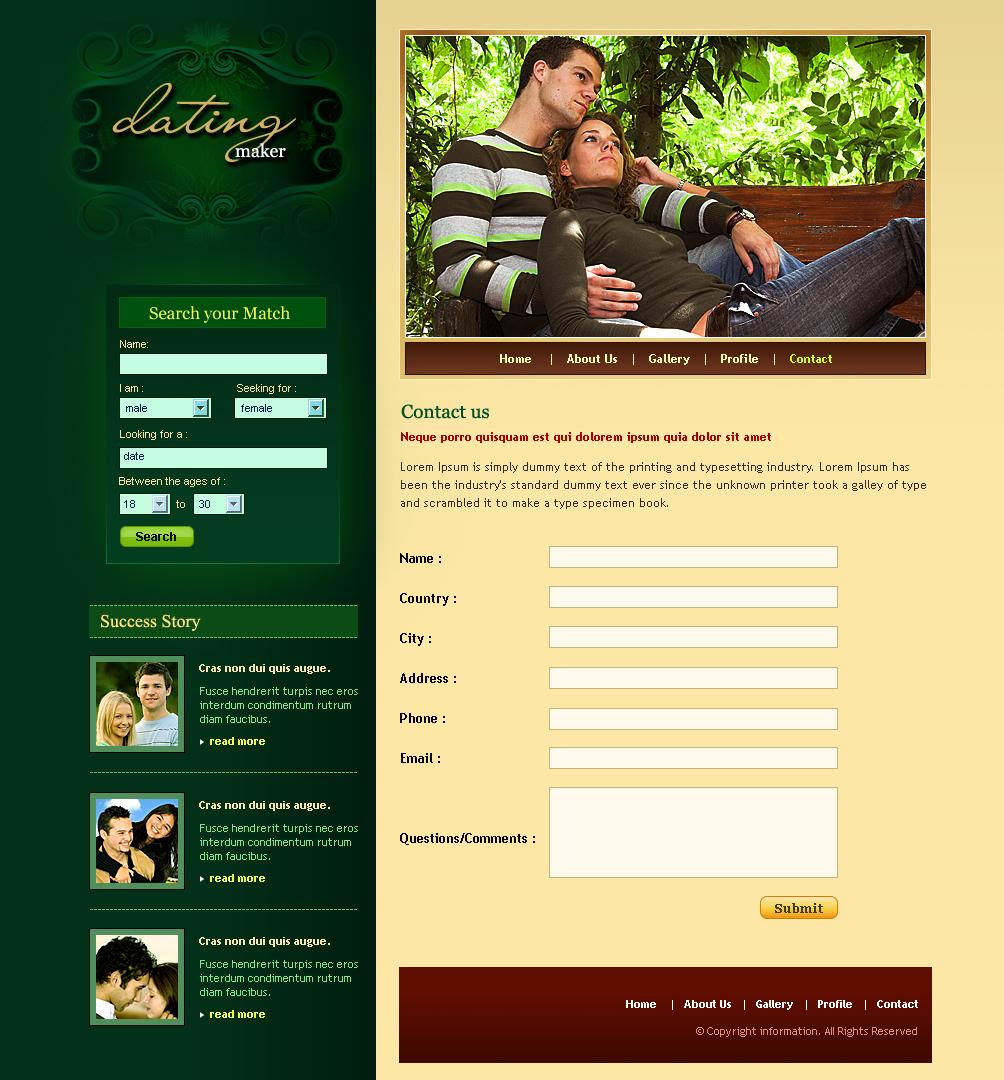 dating website maker Legal dating leeftijd in Louisiana