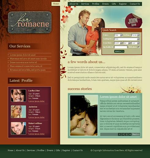 Dating-Website css-VorlageDating spielt schwer zu bekommen