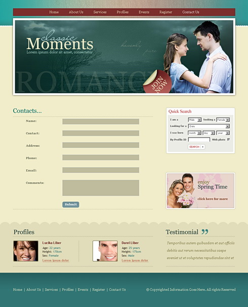 Moments dating website - newstreetsocietycom