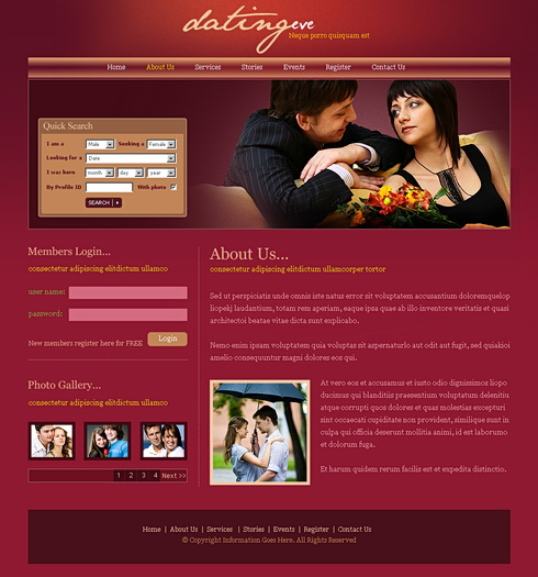 Eve dating site