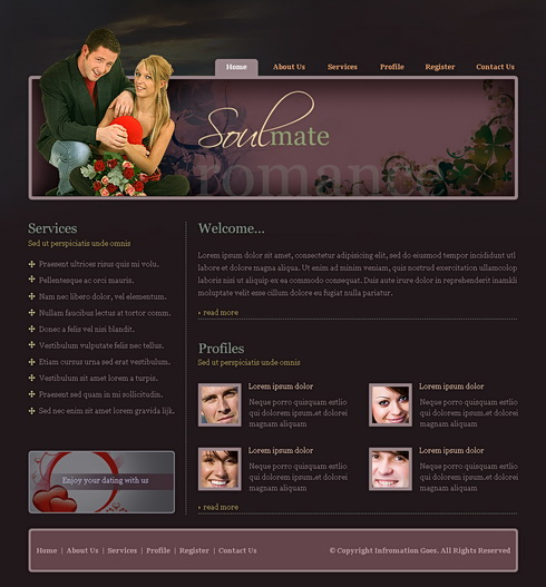 soul mate dating website First of all, you should know judith is not like a dating website she actually  matches her clients based on qualities that match and not principally  characteristics.
